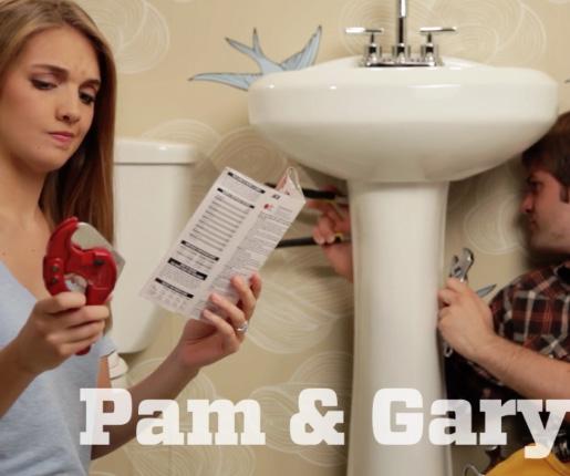 Pam and Gary
