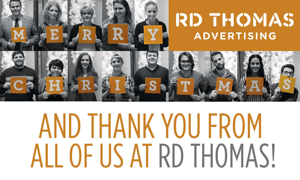 Warm Wishes from The RD Thomas Crew