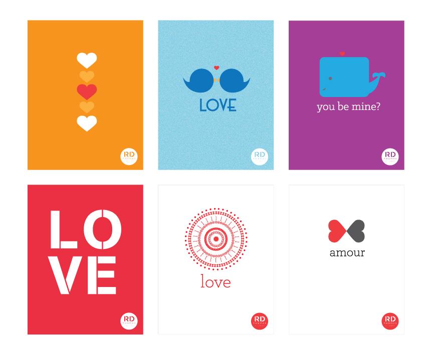 Free Printable Valentines Day Cards RD Thomas Advertising – Thomas Valentine Cards