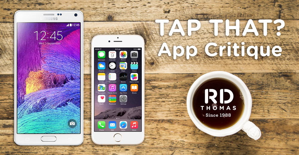 Tap That? : A Collaborative App Critique