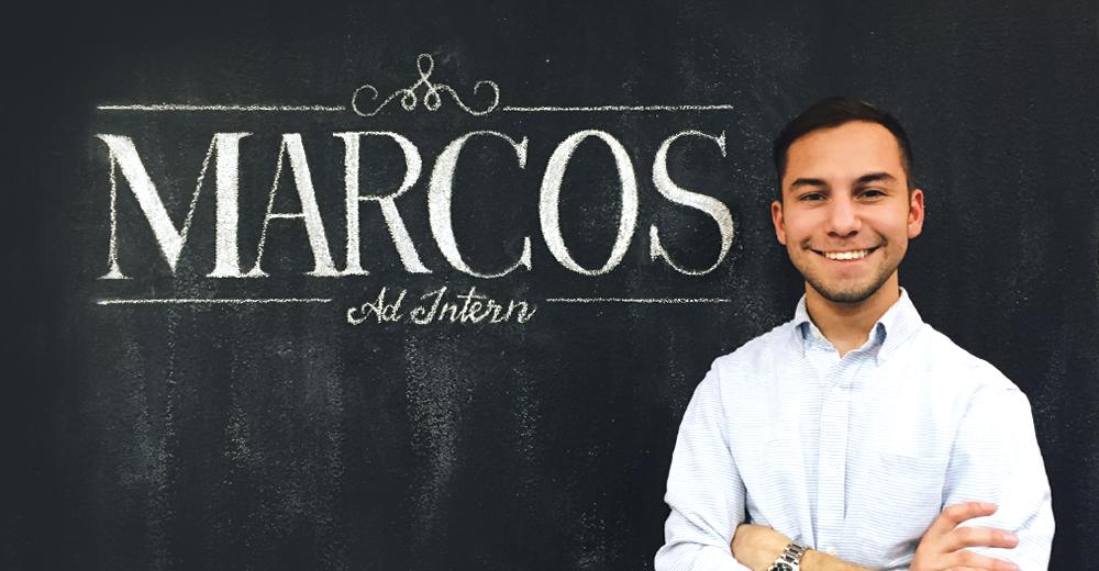 Marcos Palacios: Intern Spotlight