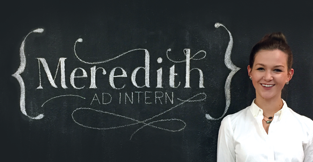 Meredith McBroom: Intern Spotlight