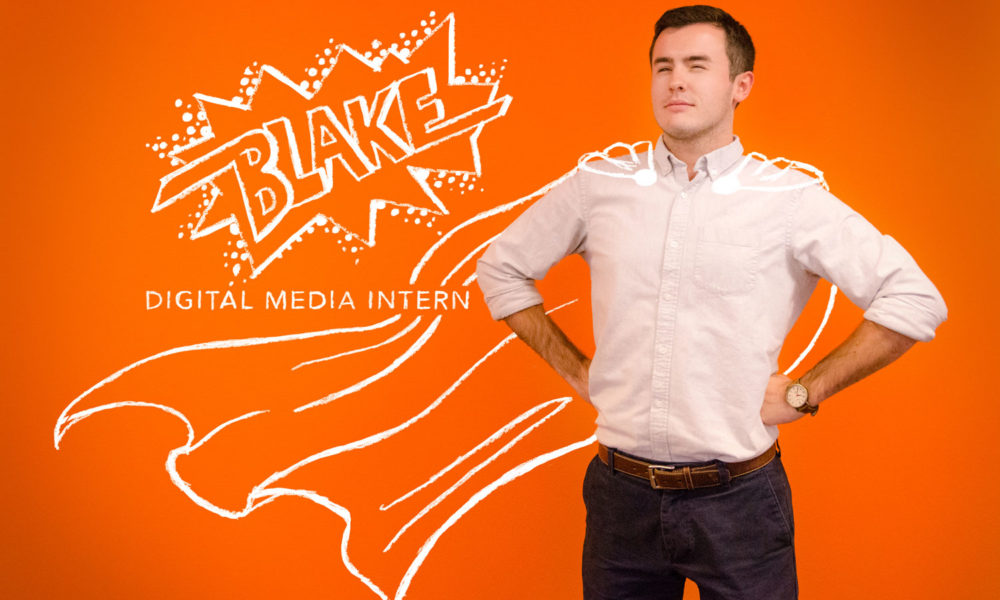 Blake Lucas: Intern Spotlight