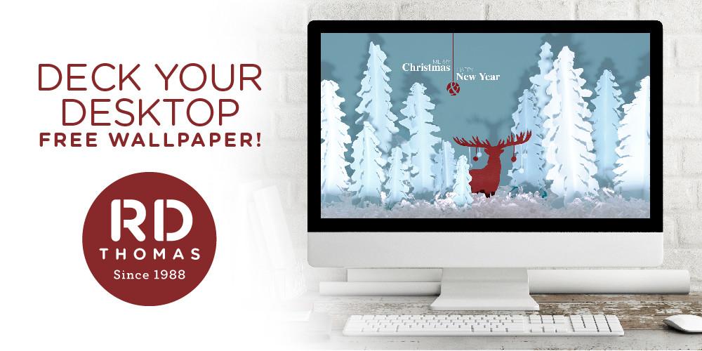Ho, Ho, Holiday Wallpaper Download