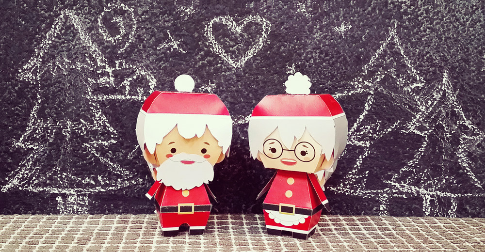 Create Your Own Mr. and Mrs. Claus – Free Christmas Printable!